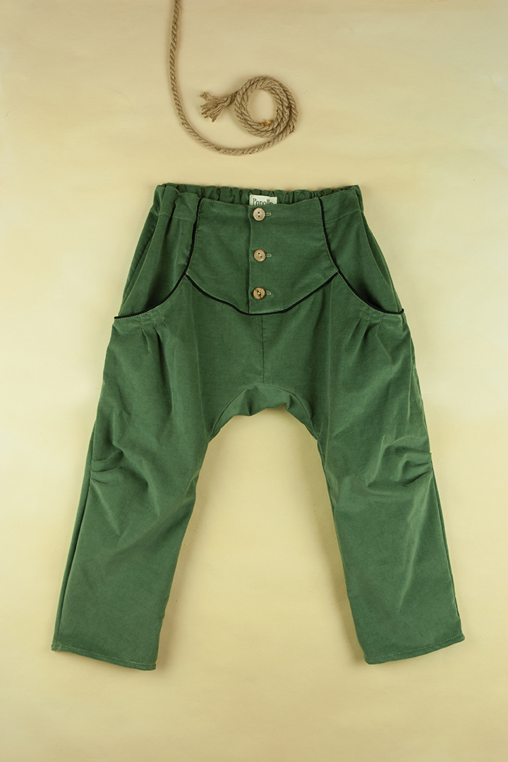 Mod.13.1 Green trousers | AW017.18 Mod.13.1 Green trousers