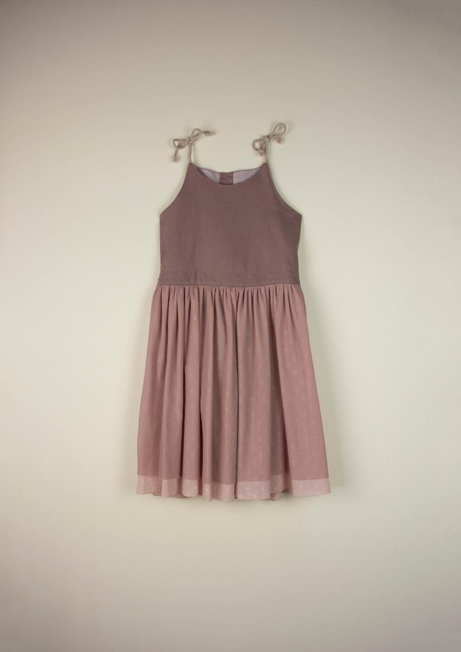 Mod.29.1 Pink dress with straps | SS21Mod.29.1 Pink dress with straps